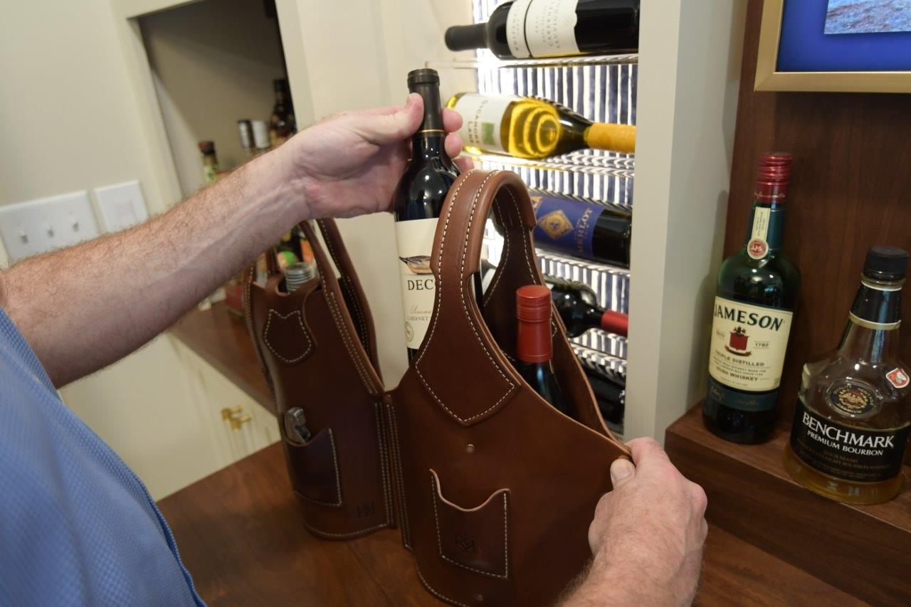 Bottle Tote - Double Barrel Bespoke