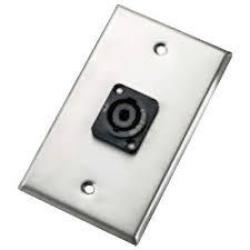 Wallplate - single - NL2MP
