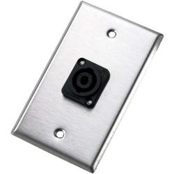Wallplate - single - NL4MP