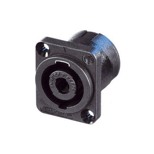 Neutrik speakON NL4MP panel mount connector 4 pole-female