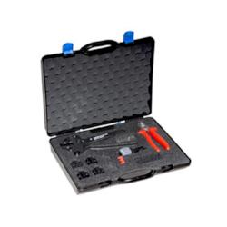 BNC Tool Case equipped with HX-R-BNC, PT-BNC, and CS-BNC.