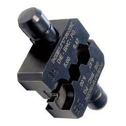 Die for HX-BNC crimp tool with Hex Crimp size: A (6.47mm) B (5.00mm) CP (1.6mm)