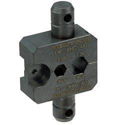 Die for HX-BNC crimp tool with Hex Crimp size: A (7.36mm) B (5.00mm) CP (1.6mm)