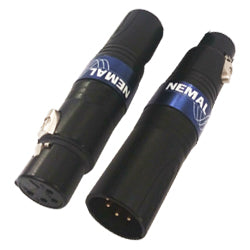 XLR 5-Pin Female To 3-Pin Male Inline Adapter