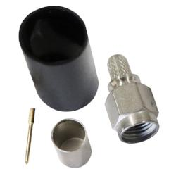 SMA Type Crimp Plug For RG142/223 Coaxial Cable