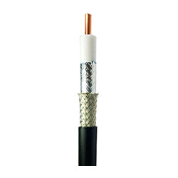 "Low Loss 50 Ohm LMR Type Coaxial Cable 5/8"" (Eq LMR600)"