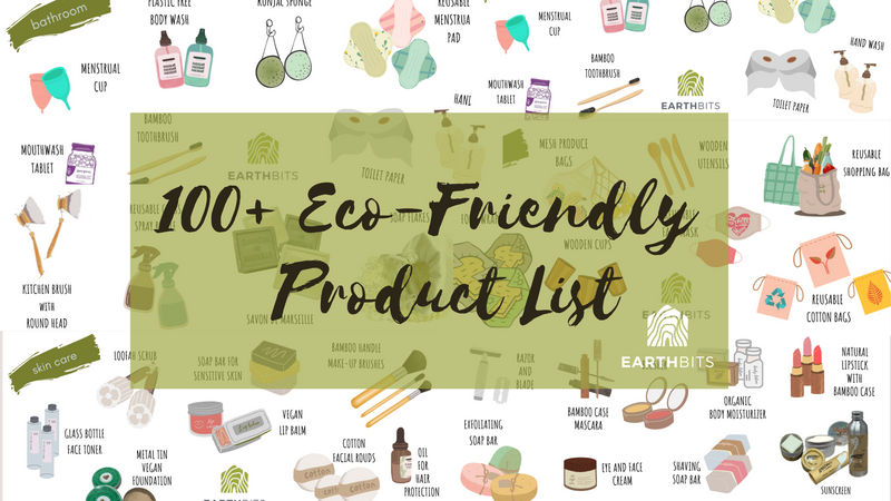 100 eco friendly product list