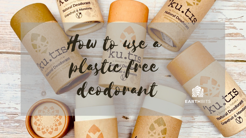 how to use a plastic free deodorant