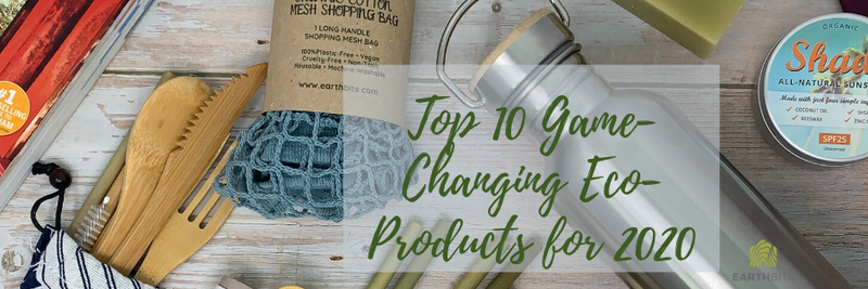 TOP TEN 'GAME-CHANGING'  ECO-PRODUCTS FOR 2020