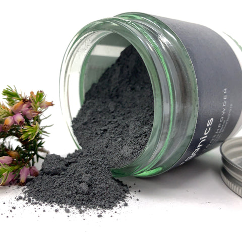 charcoal activated tooth whitening powder