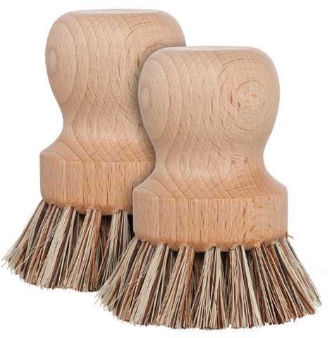 natural fiber brushes