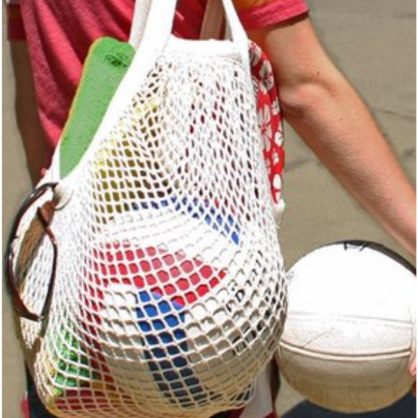 Mesh Beach Bag Flexible and Eco-friendly