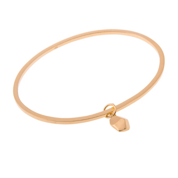 Anuka Mani Gold Bangle & Charm