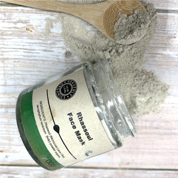 Heavenly Organics Rhassoul Face Mask