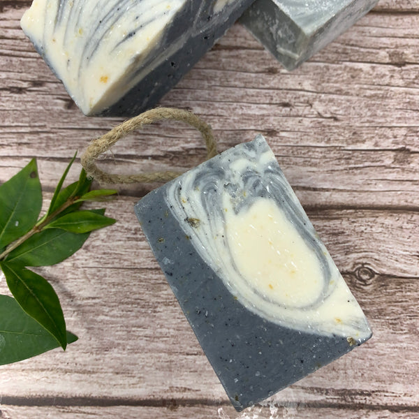 Natural Soap on Rope