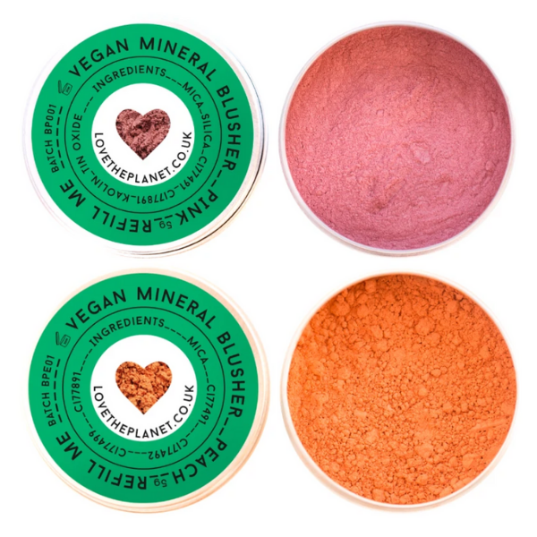 Love the Planet Vegan Mineral Blusher