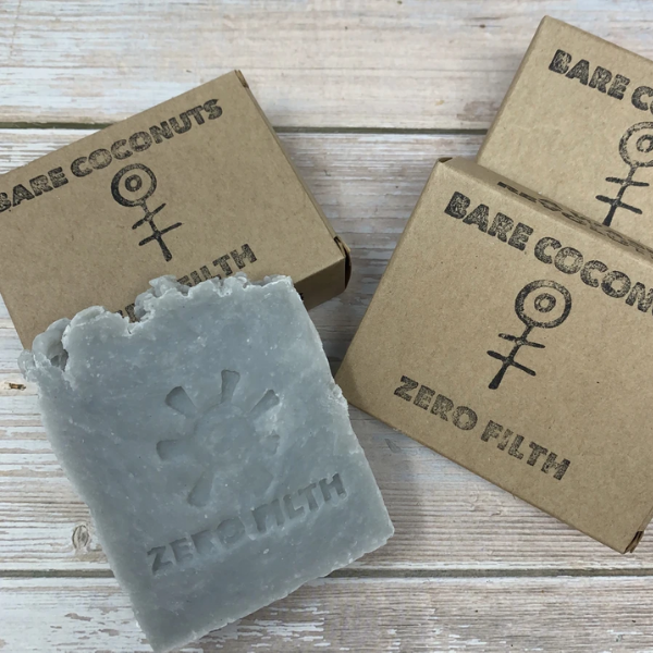Primal Suds Unscented Coconut Soap Bar