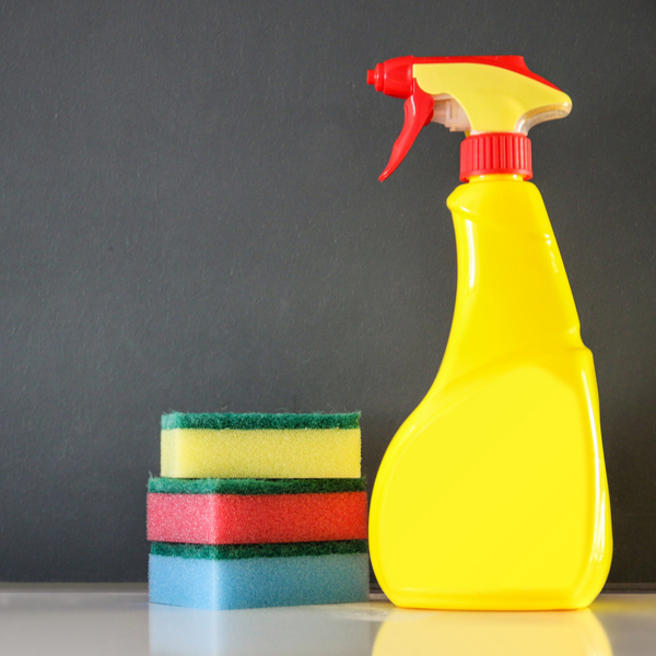 plastic toxic cleaning products