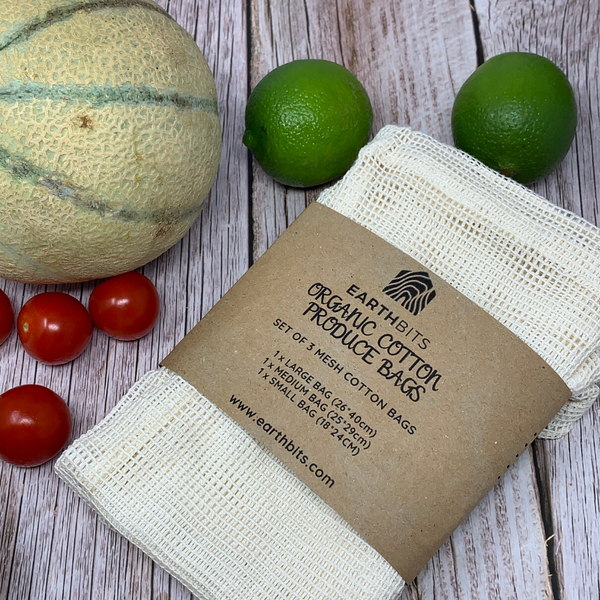 organic cotton roduce bags