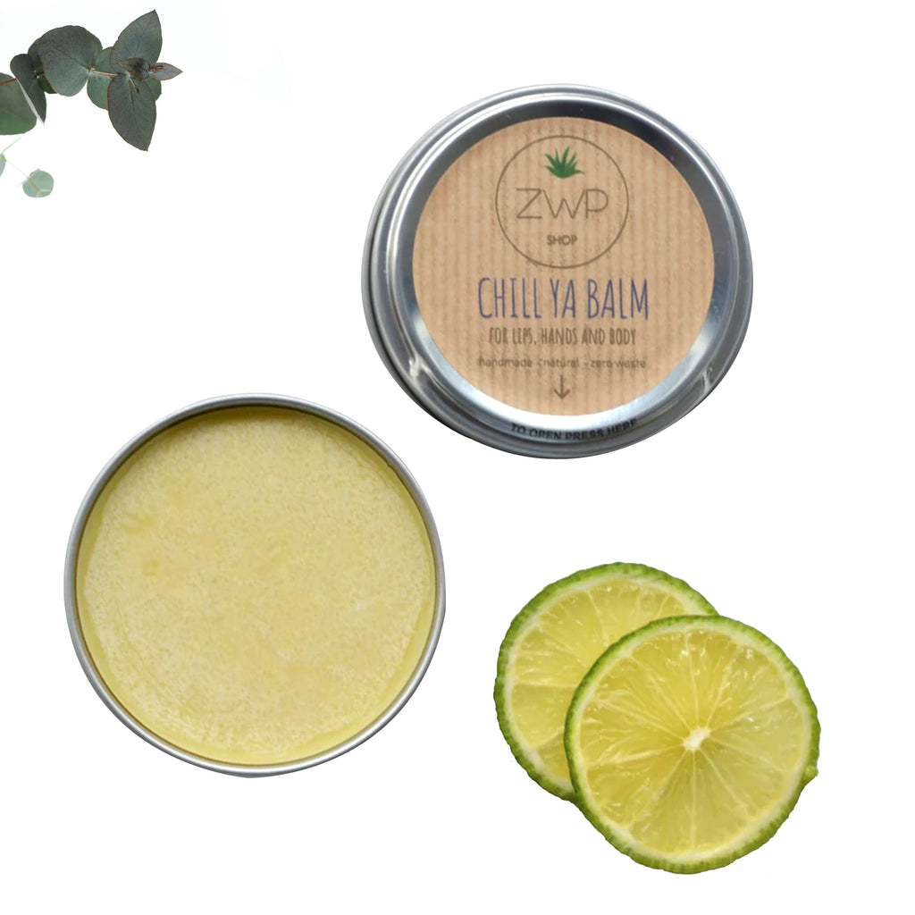 Vegan Lip Balm For Lips, Hands, And Body, Chill Ya Balm, Zero Waste Path