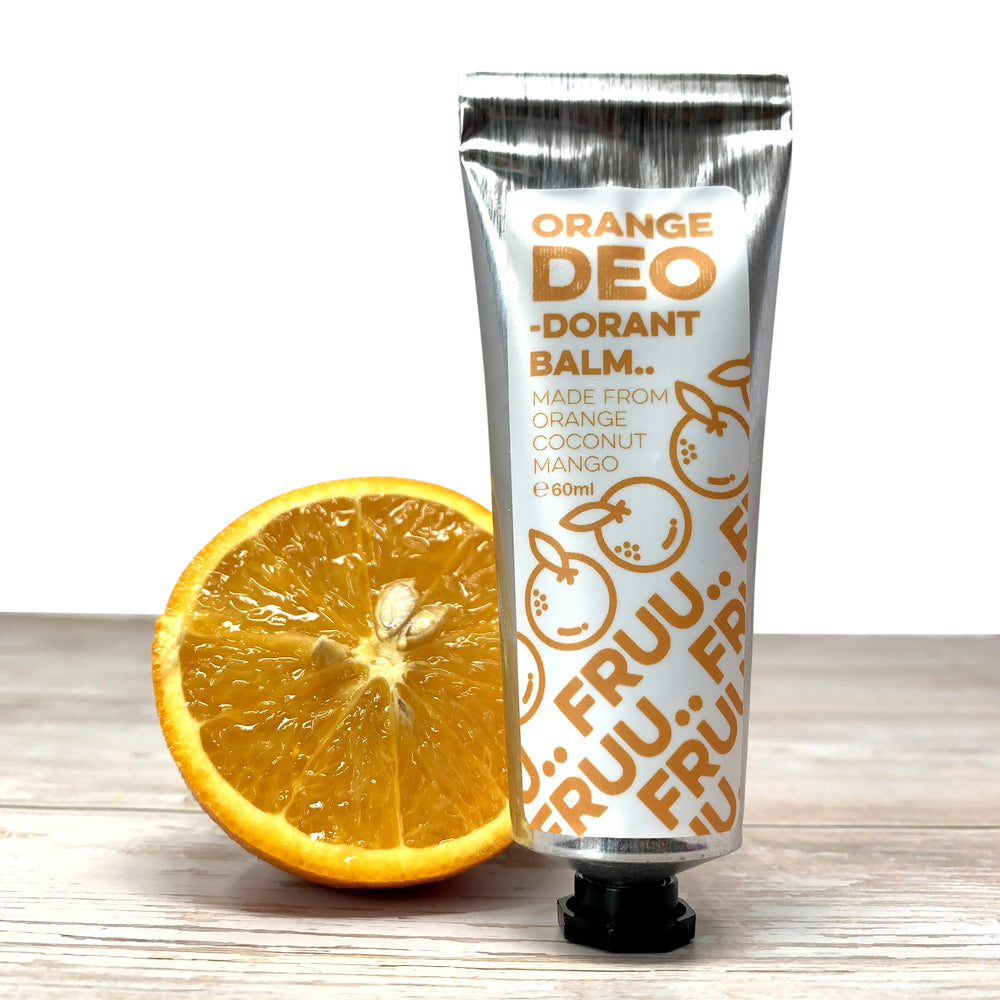 Natural Cream Deodorant, Bicab Free Deodorant Cream, Orange