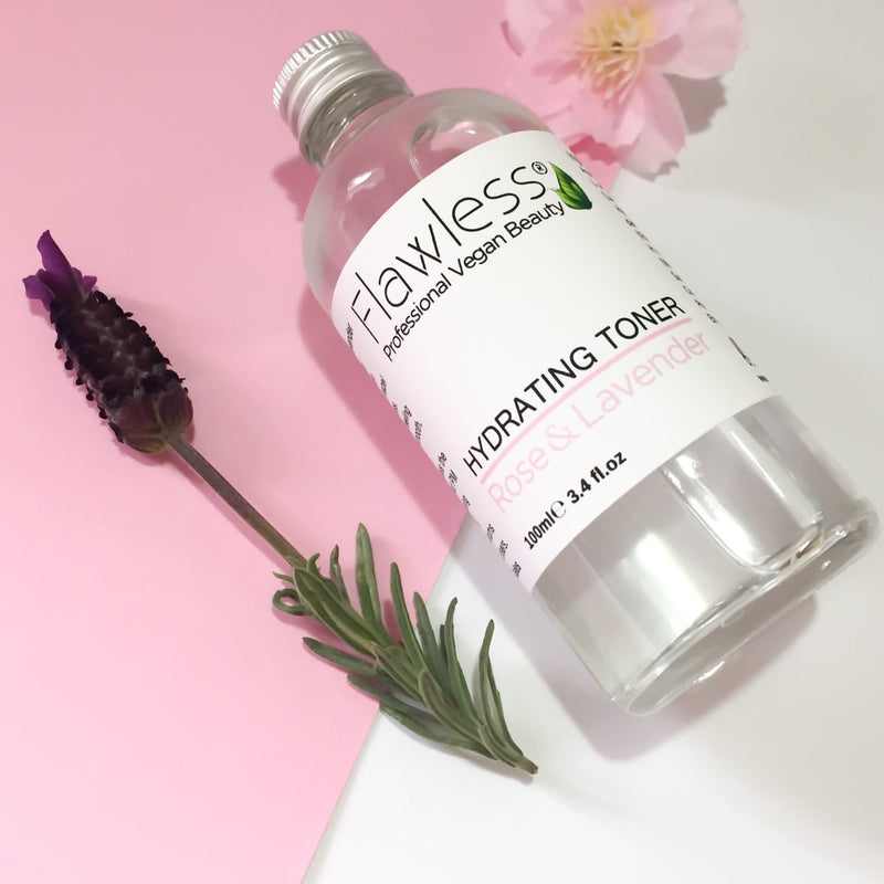 Hydrating toner rose and lavender