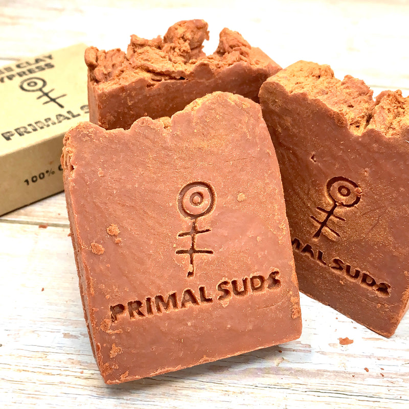 natural soap with plastic free packaging by primal suds