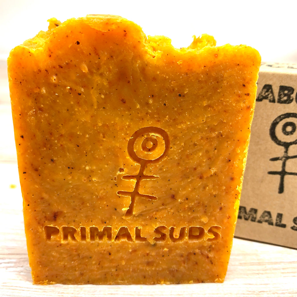 xabon solid soap bar by primal suds