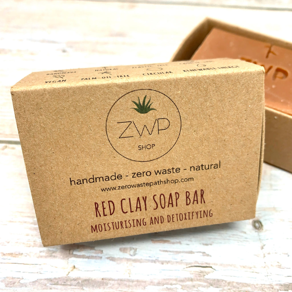 red clay soap moisturising and detoxifying