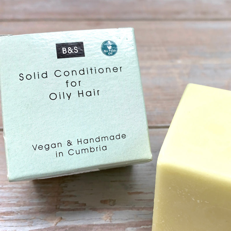 Solid Conditioner Bar For Oily Hair by Bain And Savon