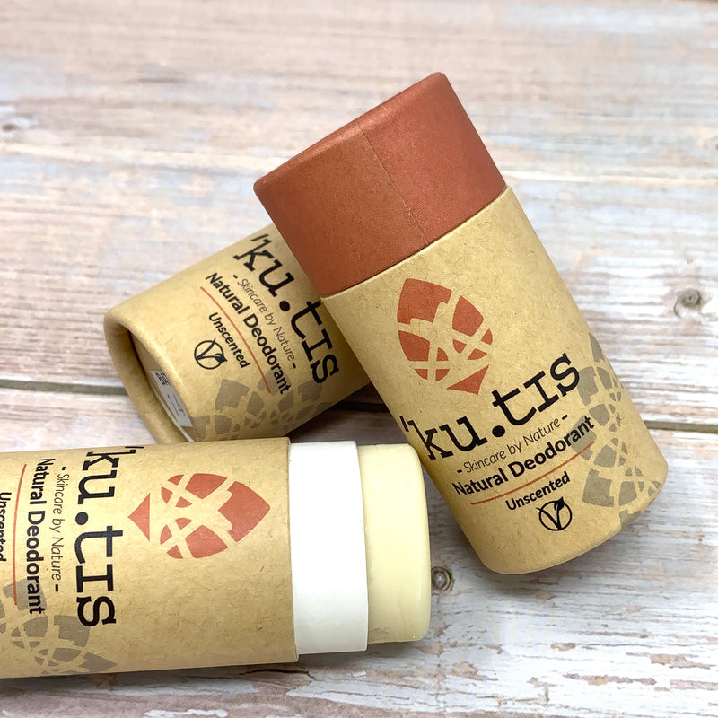 natural ecofriendly deodorant stick for sensitive skin without essential oils