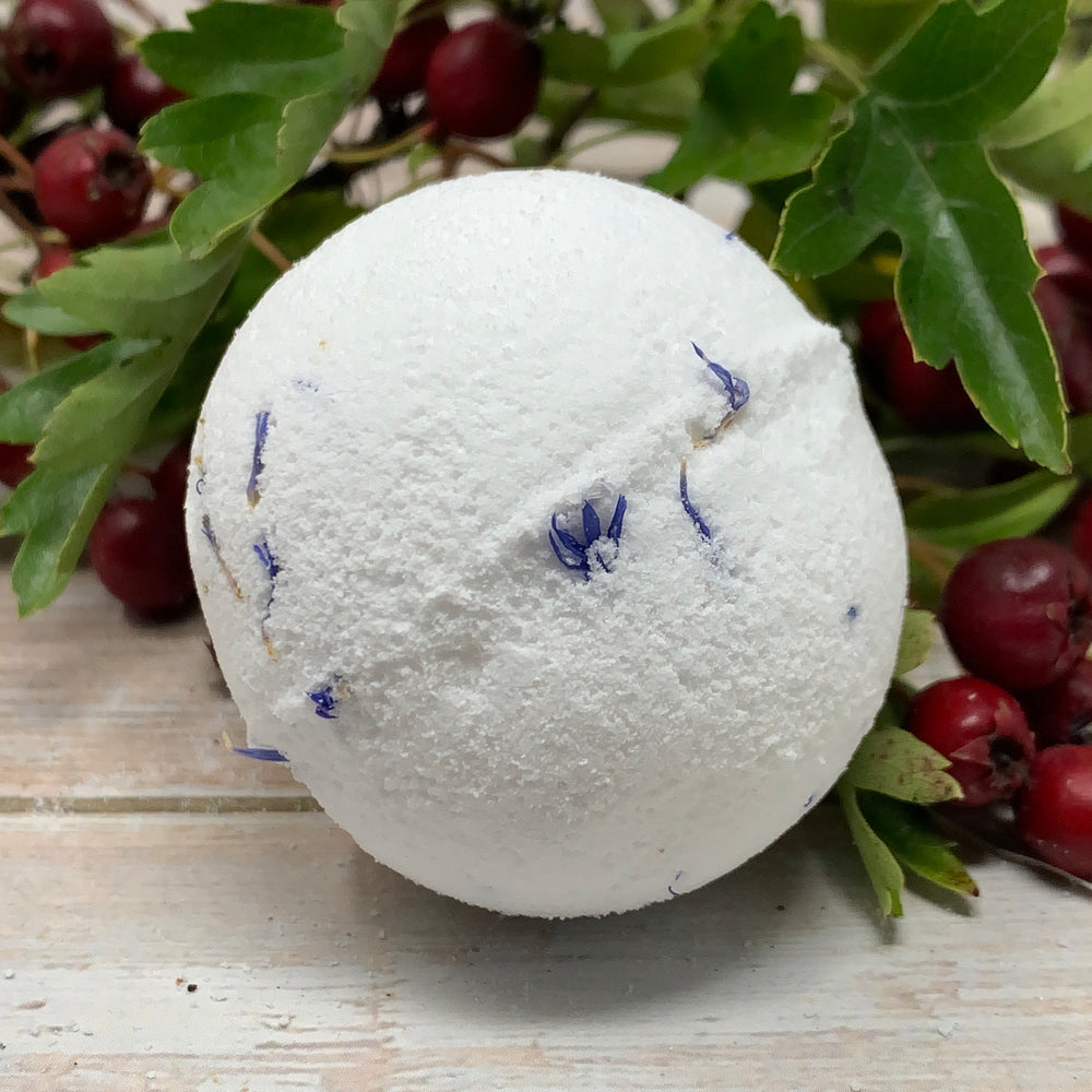 bergamot lime bath bomb vegan and cruelty free