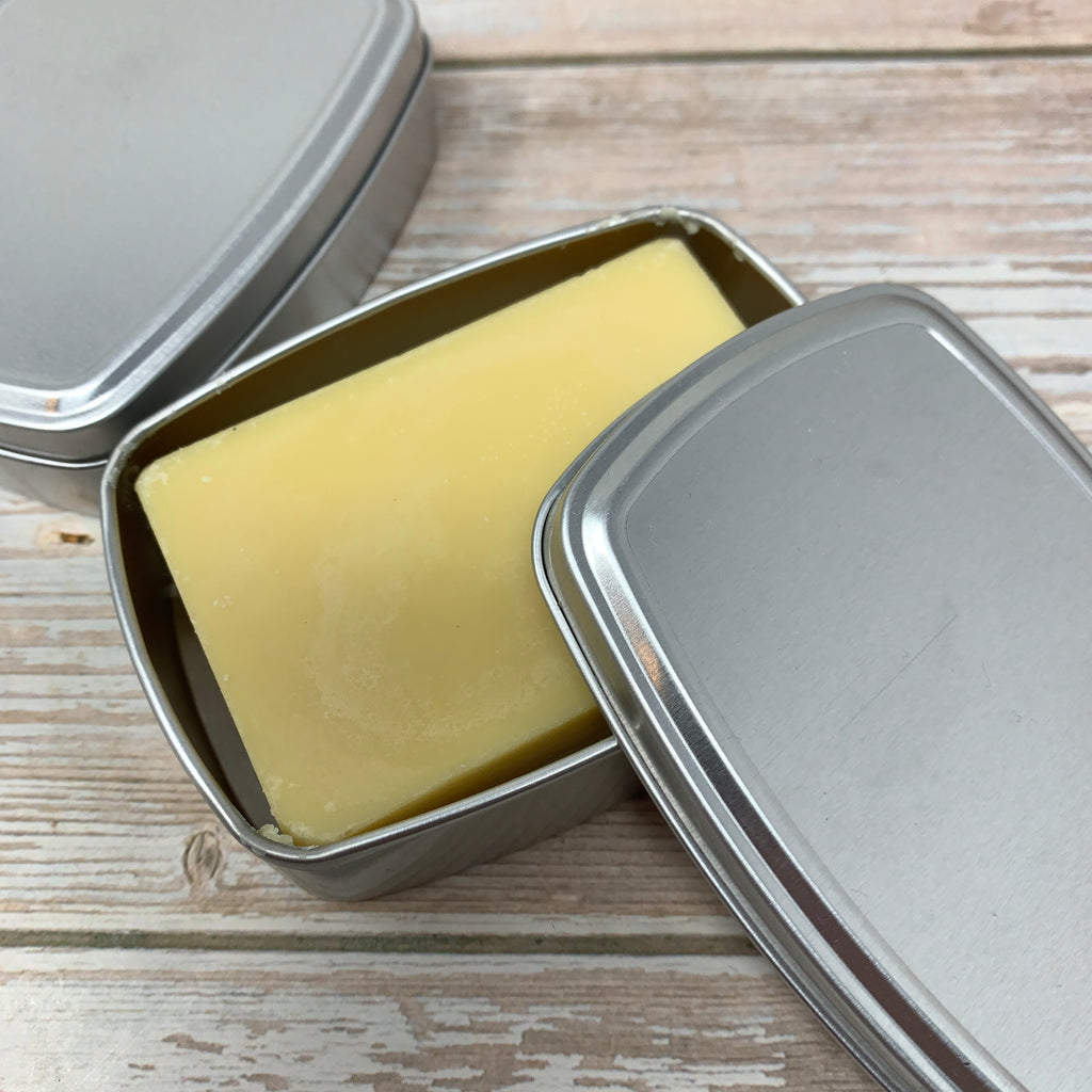 travel soap container made with aluminium