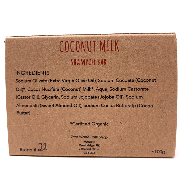 Coconut Milk Shampoo Bar, Zwp Shop
