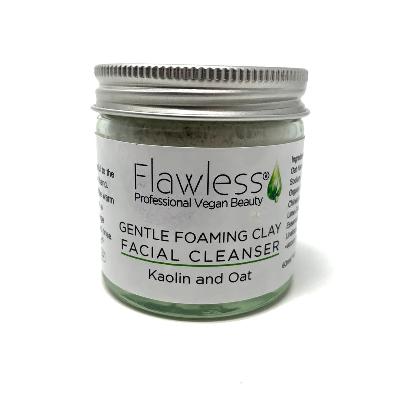 vegan organic facial cleanser
