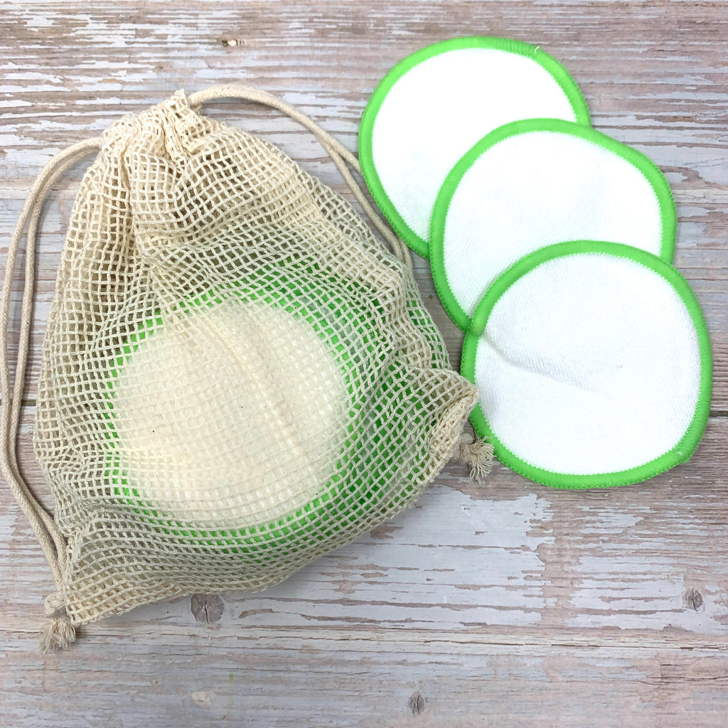 reusable makeup pads with bamboo and cotton earthbits