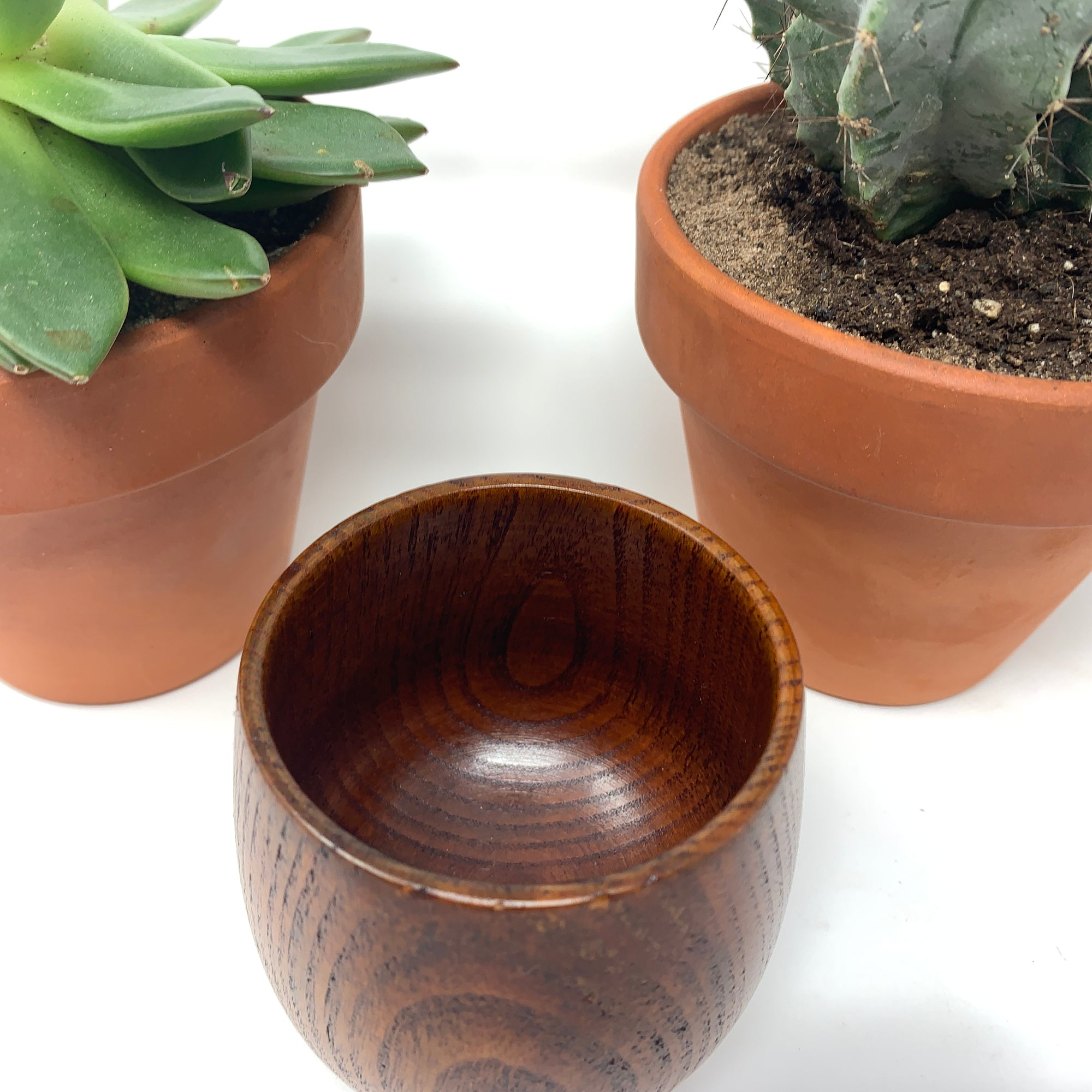 japanese wooden tea cup
