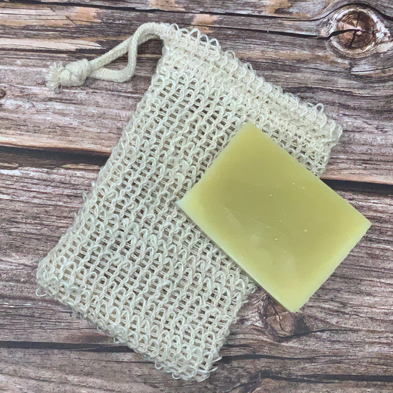 natural vegan soap bag