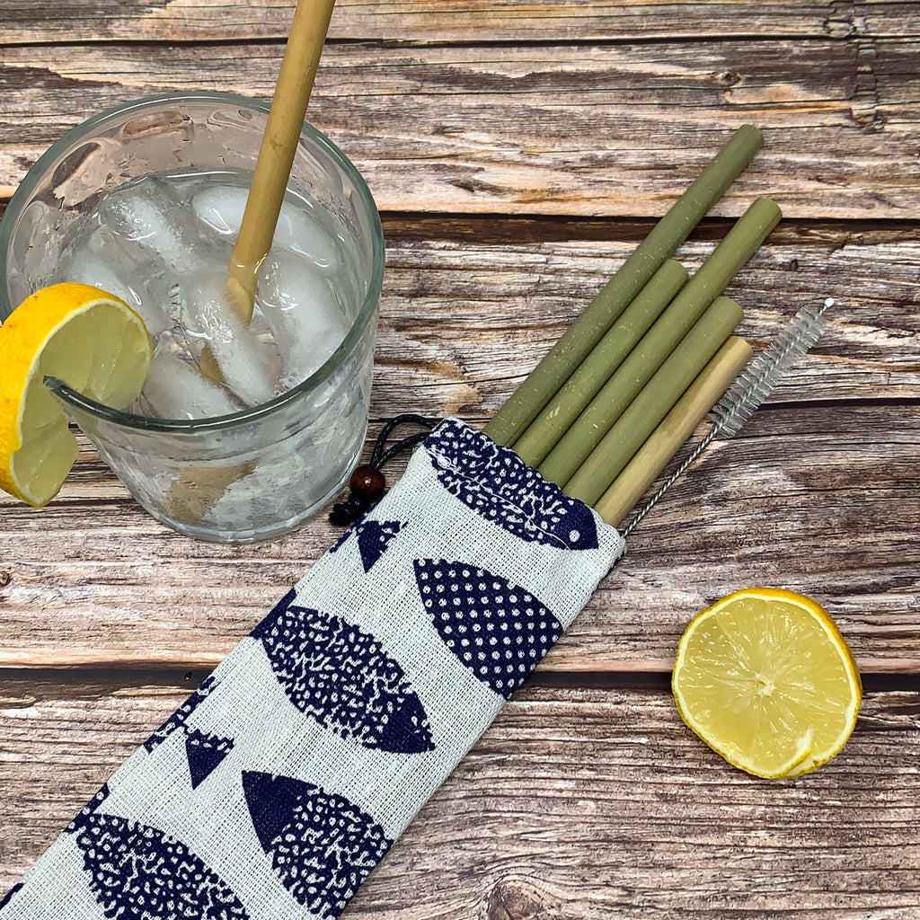 organic bamboo reusable straws
