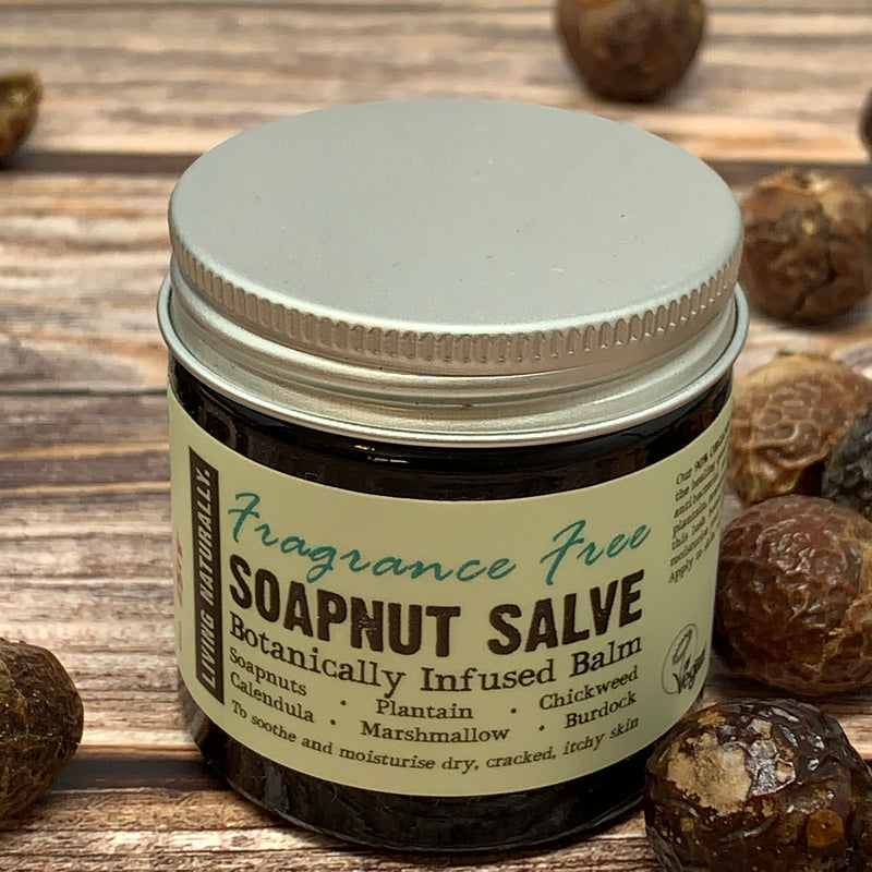 soapnut salve sensitive skin cream