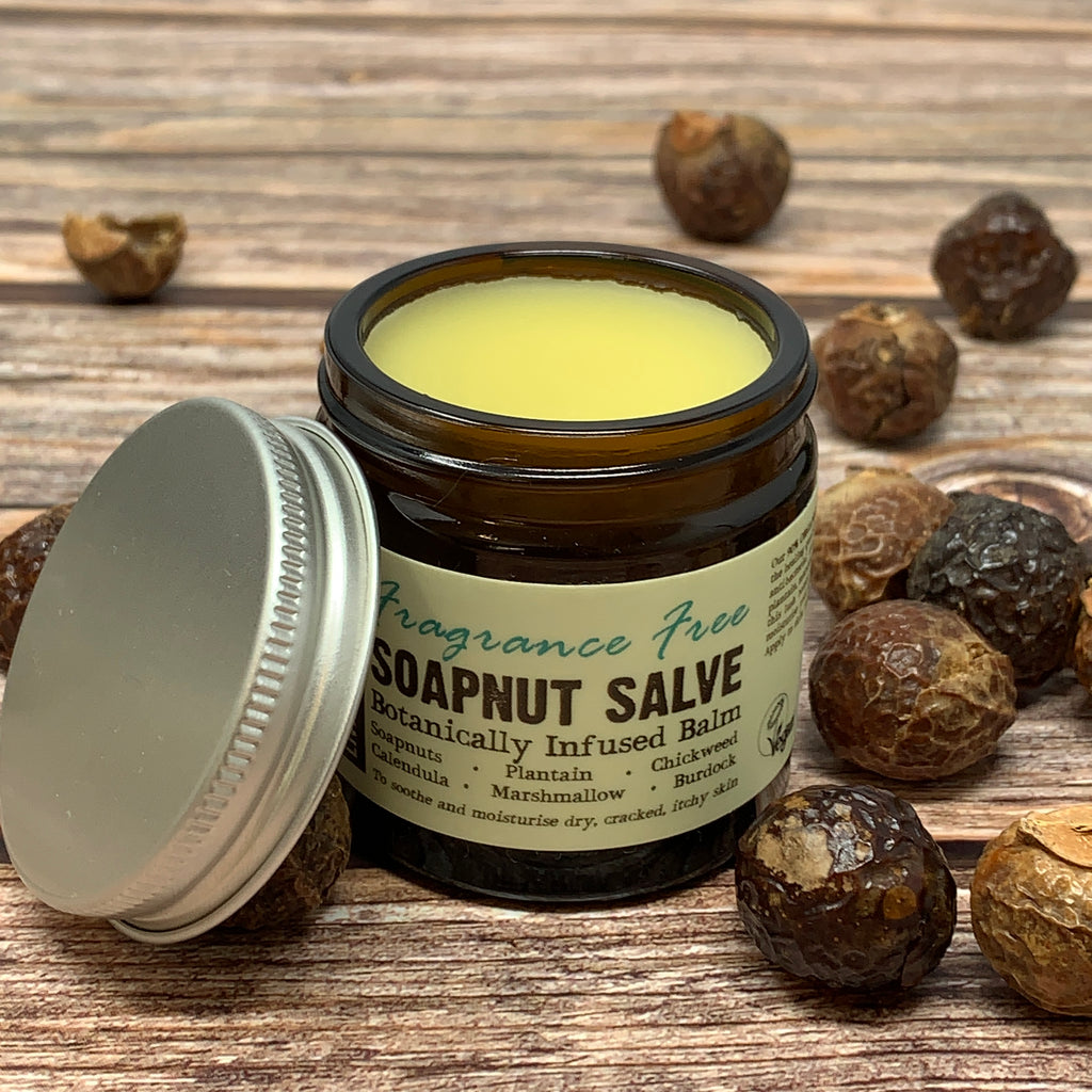Balm made with soap nuts great for sore nipples