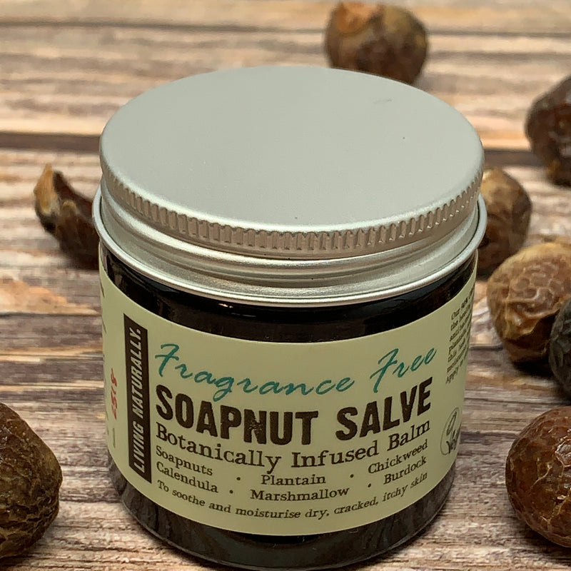 organic soapnut salve for eczema