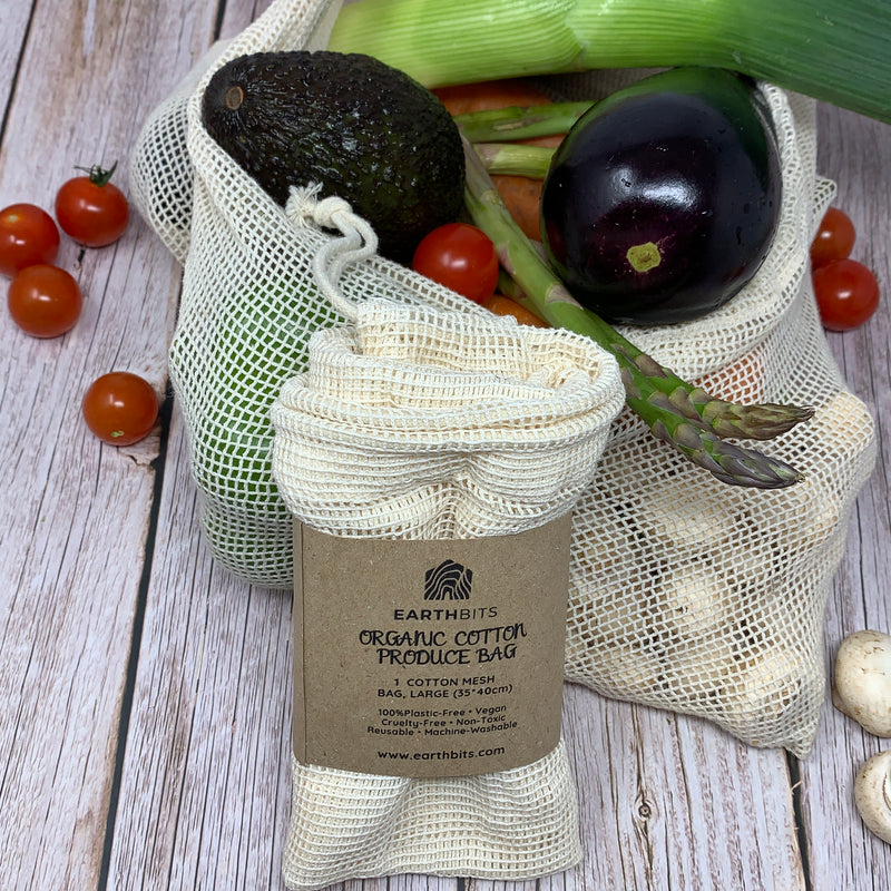 large cotton produce bag