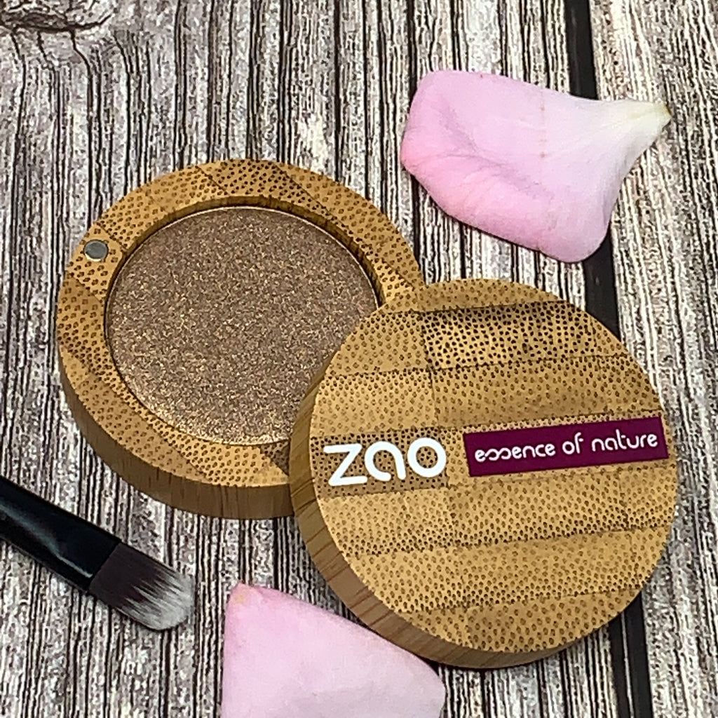 zao refillable eyeshadow bronze