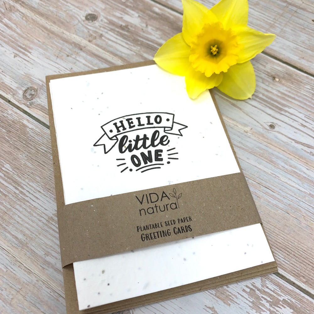 hello little one pack of 5 sustainable cards