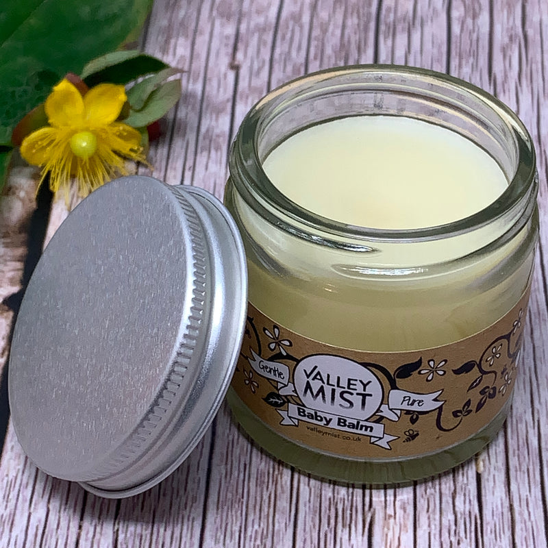 baby cream with organic rosehip oil