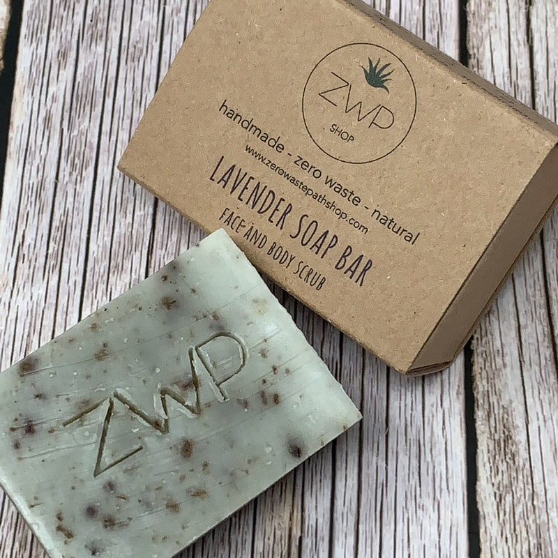 lavender zero waste soap bar