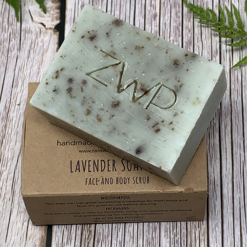 lavender solid soap zero waste path shop