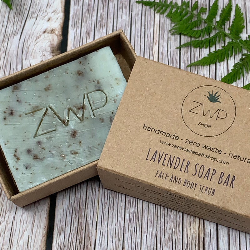 Cruelty free soap bar plastic free