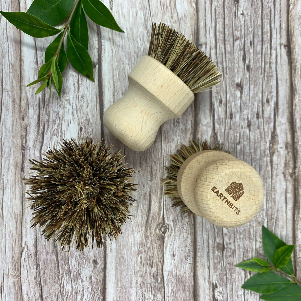 natural pot scrubber